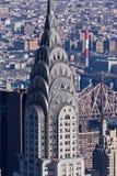 χτίζοντας chrysler πόλη Νέα Υόρκη Στοκ φωτογραφία με δικαίωμα ελεύθερης χρήσης