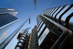 χτίζοντας Lloyd Λονδίνο s στοκ φωτογραφία
