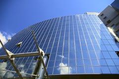 χτίζοντας Windows ξενοδοχείων Στοκ Εικόνες