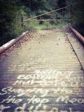 Χτίστε μια γέφυρα στοκ φωτογραφία με δικαίωμα ελεύθερης χρήσης