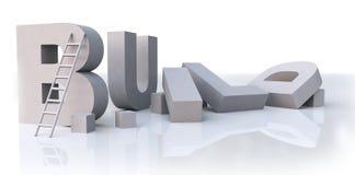 χτίστε τις λέξεις Στοκ εικόνα με δικαίωμα ελεύθερης χρήσης