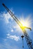 χτίστε τον πύργο στροφίγγ&omeg Στοκ εικόνες με δικαίωμα ελεύθερης χρήσης