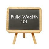 Χτίστε τον πλούτο 101 Στοκ Φωτογραφία