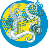 Χταπόδι φωτογραφιών Στοκ εικόνα με δικαίωμα ελεύθερης χρήσης