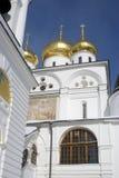 1507 1533 χτισμένα υπόθεση έτη καθεδρικών ναών Κρεμλίνο σε Dmitrov, αρχαία πόλη στην περιοχή της Μόσχας Στοκ εικόνα με δικαίωμα ελεύθερης χρήσης