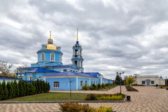 1507 1533 χτισμένα υπόθεση έτη καθεδρικών ναών Zadonsk Ρωσία Στοκ Εικόνες