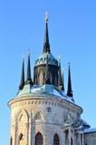 χτισμένη κορυφή ύφους εκκλησιών γοτθική ρωσική Στοκ φωτογραφία με δικαίωμα ελεύθερης χρήσης