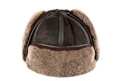 Χτυπήματα αυτιών χειμερινών καπέλων στοκ φωτογραφία με δικαίωμα ελεύθερης χρήσης