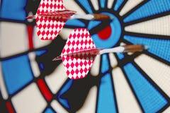 Χτυπήστε το Bullseye Στοκ Φωτογραφία