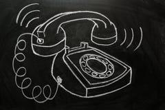 Χτυπώντας τηλέφωνο διανυσματική απεικόνιση