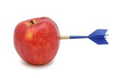 χτύπημα βελών μήλων που απο& Στοκ εικόνες με δικαίωμα ελεύθερης χρήσης