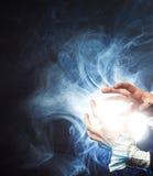 χτύπημα μαγικό Στοκ εικόνα με δικαίωμα ελεύθερης χρήσης
