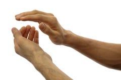 χτύπημα των χεριών Στοκ εικόνα με δικαίωμα ελεύθερης χρήσης