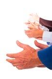 χτύπημα των χεριών στοκ φωτογραφία με δικαίωμα ελεύθερης χρήσης