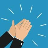 Χτύπημα χεριών επιχειρηματιών διανυσματική απεικόνιση