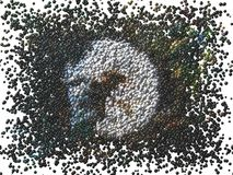 χτύπημα 6 σφαιρών απεικόνιση αποθεμάτων