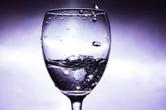 χυμένο γυαλί κρασί Στοκ Φωτογραφίες