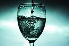 χυμένο γυαλί κρασί Στοκ Εικόνες