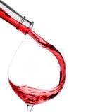 χυμένο γυαλί κόκκινο κρα&si Στοκ φωτογραφία με δικαίωμα ελεύθερης χρήσης