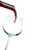 χυμένο γυαλί κόκκινο κρα&si Στοκ εικόνες με δικαίωμα ελεύθερης χρήσης