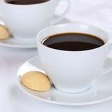 Χυμοί καφέ στο φλυτζάνι Στοκ φωτογραφίες με δικαίωμα ελεύθερης χρήσης