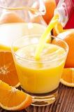 Χυμός από πορτοκάλι Στοκ Φωτογραφίες