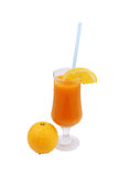 Χυμός από πορτοκάλι Στοκ Εικόνες