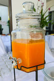Χυμός από πορτοκάλι Στοκ Εικόνα