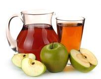 χυμός καρπού μήλων Στοκ Εικόνες