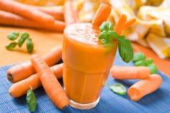 χυμός καρότων Στοκ Φωτογραφία