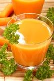 χυμός καρότων Στοκ Εικόνες