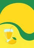 Χυμός μάγκο και αφίσα φρούτων απεικόνιση αποθεμάτων