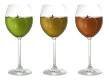 χυμός μήλων Στοκ Φωτογραφία