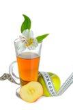 Χυμός μήλων και μήλο Στοκ φωτογραφία με δικαίωμα ελεύθερης χρήσης