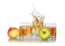 χυμός πάγου μήλων Στοκ φωτογραφία με δικαίωμα ελεύθερης χρήσης