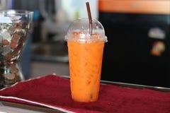 Χυμός στο φρέσκο ποτό γυαλιού της Ταϊλάνδης Στοκ Εικόνα