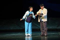 Χυτοί απολογισμοί - όπερα Jiangxi ένας στατήρας Στοκ Εικόνα