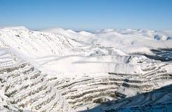 χυτό ορυχείο ανοικτό Στοκ φωτογραφίες με δικαίωμα ελεύθερης χρήσης