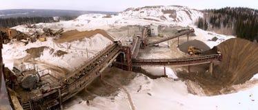 χυτό ορυχείο ανοικτό Στοκ φωτογραφία με δικαίωμα ελεύθερης χρήσης