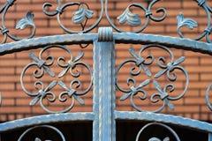 χυτό πρότυπο σιδήρου φραγών άνευ ραφής Στοκ εικόνα με δικαίωμα ελεύθερης χρήσης