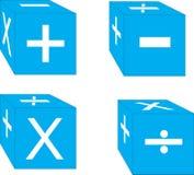 χωρίζει σε τετράγωνα μαθ&eta Στοκ εικόνα με δικαίωμα ελεύθερης χρήσης