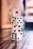 χωρίζει σε τετράγωνα ξύλι&nu Στοκ Εικόνα