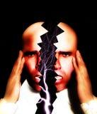 Χωρίζοντας πονοκέφαλος 4 απεικόνιση αποθεμάτων
