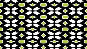 Χωρίς ραφή loopable να τυλίξει γεωμετρικό άσπρο και πράσινο σχέδιο διανυσματική απεικόνιση