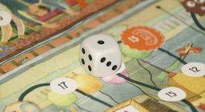 Χωρίστε σε τετράγωνα για τα παιχνίδια Στοκ Εικόνες