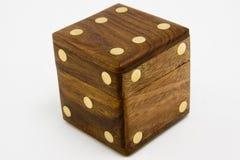 χωρίστε σε τετράγωνα ξύλινο Στοκ Φωτογραφία