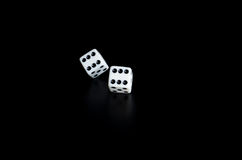 Χωρίστε σε τετράγωνα στη μαύρη ανασκόπηση Στοκ φωτογραφία με δικαίωμα ελεύθερης χρήσης