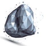 Χωρική τεχνολογική ασυμμετρική μορφή αντίθεσης, παραμορφωμένος ενιαίος Στοκ εικόνα με δικαίωμα ελεύθερης χρήσης