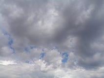 Χωρισμός σύννεφων θύελλας Στοκ Φωτογραφία