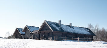 Χωριό από το παρελθόν Στοκ Εικόνες